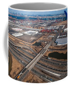 Aerial Over Newark Coffee Mug