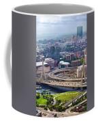 Aerial Shot Of Boston Coffee Mug