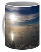 Aerial Sunrise Over Florida Keys Coffee Mug