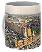 Aerial View Of A Baseball Stadium Coffee Mug
