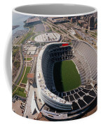 Aerial View Of A Stadium, Soldier Coffee Mug