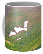 Aerial View Of Alaskan Landscape Coffee Mug