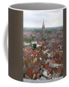 Aerial View Of Bruges Belgium Coffee Mug