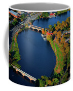 Aerial View Of Charles River With Views Coffee Mug
