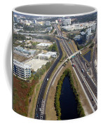 Aerial View Of City Of Tampa Coffee Mug