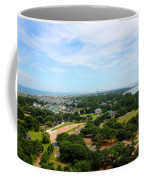 Aerial View Of Corolla North Carolina Outer Banks Obx Coffee Mug by Design Turnpike