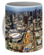 Aerial View Of Los Angeles Coffee Mug
