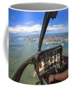 Aerial View Of Manhattan Coffee Mug