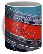 Aerial View Of People Running Coffee Mug