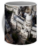 Aerial View Of St Pauls Cathedral Coffee Mug
