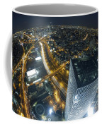 Aerial View Of Tel Aviv Coffee Mug