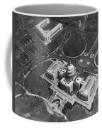 Aerial View Of U.s. Capitol Coffee Mug