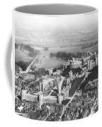 Aerial View Of Windsor Castle. Coffee Mug