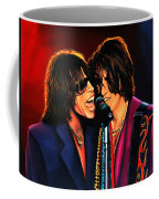 Aerosmith Toxic Twins Painting Coffee Mug