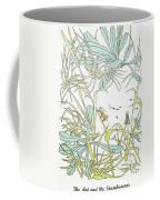 Aesop: Ant & Grasshopper Coffee Mug