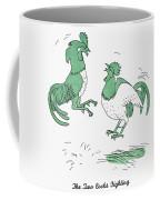 Aesop: Cocks Fighting Coffee Mug