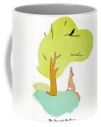 Aesop: Fox & Crow Coffee Mug