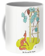 Aesop: Fox And Grapes Coffee Mug