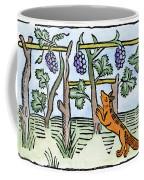 Aesop The Fox & The Grapes Coffee Mug