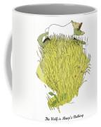 Aesop: Wolf & Sheep Coffee Mug