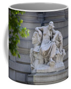 Africa Statue - New York City Coffee Mug