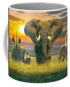 Africa Triptych Variant Coffee Mug