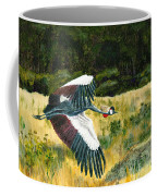 African Crowned Crane Painting Coffee Mug