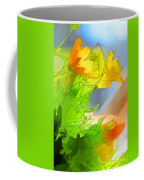 African Daisy I - Digital Paint Coffee Mug