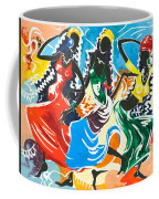 African Dancers No. 2 Coffee Mug