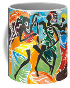 African Dancers No. 3 Coffee Mug