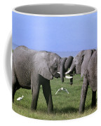 African Elephant Greeting Endangered Species Tanzania Coffee Mug
