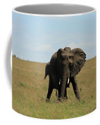 African Elephant Masai Mara Kenya Coffee Mug