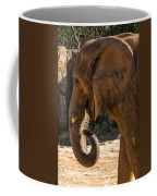 African Elephant Profile Coffee Mug