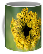 African Marigold Named Crackerjack Gold Coffee Mug