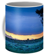 African Panoramic Sunset Landscape Coffee Mug