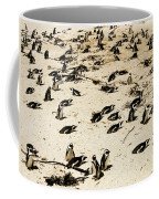African Penguins Coffee Mug by Oliver Johnston