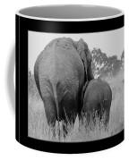 African Safari Elephants 3 Coffee Mug