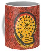 African Shell Pattern Coffee Mug