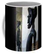 African Statue Reflection Coffee Mug