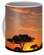 African Sunset Coffee Mug
