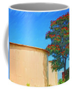 African Tulip And Fuel Tanks Coffee Mug