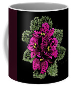 African Violets Bedazzled Coffee Mug