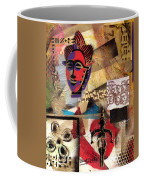 Afro Aesthetic B Coffee Mug by Everett Spruill
