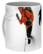 After An Afternoon Of Ice Climbing, Two Coffee Mug