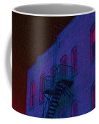 after hours glow -Seurat Style Coffee Mug