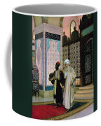 After Prayers At The Mosque Coffee Mug by Rudolphe Ernst