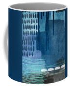 After Rain- Contemporary Abstract Painting  Coffee Mug by Linda Woods