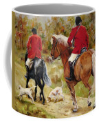 After The Hunt Coffee Mug by Diane Kraudelt