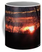 After The Snow Sunset Coffee Mug