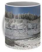 Afternoon At Mud Volcano Area - Yellowstone National Park Coffee Mug